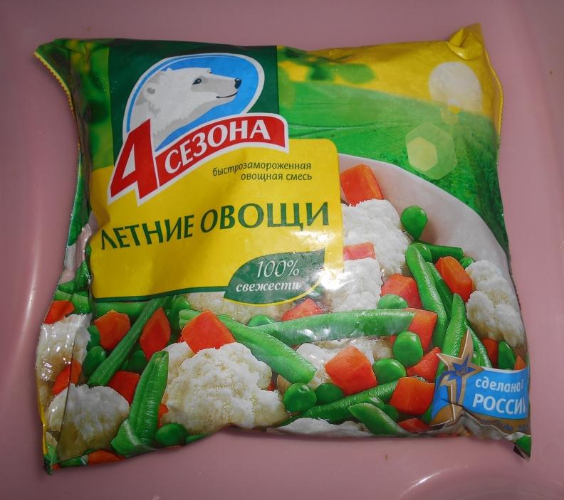 Замороженная овощная смесь своими руками 67