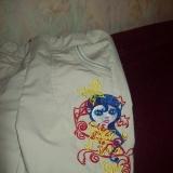 вышивка на шортах ребенк